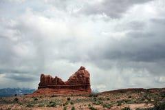 Välva sig nationalparken, Utah, USA Royaltyfria Bilder
