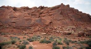 Välva sig nationalparken, Utah, USA Arkivbilder
