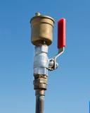 Válvula del agua Fotografía de archivo