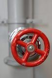 Válvula del tubo de agua Foto de archivo libre de regalías