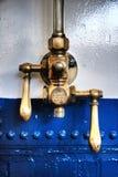 Válvula y palancas de presión Foto de archivo libre de regalías