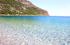 Vlychada beach Lakonia Peloponnese Greece Royalty Free Stock Photos