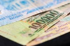 100,000 VND越南钞票  库存照片