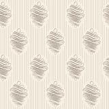 Vntage bezszwowy deseniowy tło Obrazy Stock