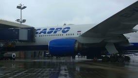 Vnukovo Airport stock video footage