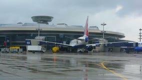 Vnukovo-Flughafen stock video footage