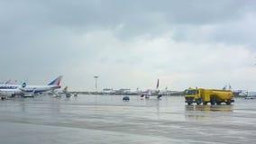 Vnukovo-Flughafen stock footage