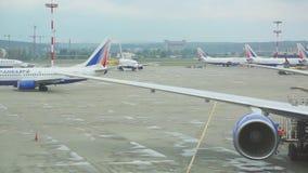 Vnukovo-Flughafen stock video