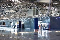 Vnukovo International airport Stock Image