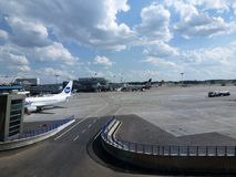 Vnukovo international airport in Moscow Stock Photography