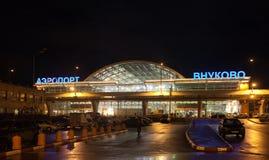 Vnukovo internationell flygplats royaltyfri foto