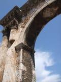 Voûte antique de Sergii dans les Pula Photos libres de droits