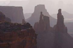 Voûte Canyonlands de blanchisseuse images libres de droits