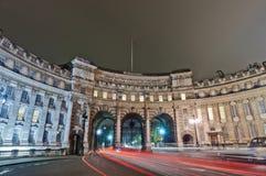 Voûte d'Amirauté à Londres, Angleterre Photos stock