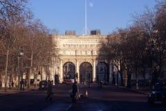 Voûte d'Amirauté, Londres Images libres de droits