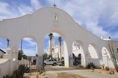 Voûte de Gateway de San Xavier Del Bac Mission Photo stock