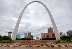 Voûte de Gateway de St Louis Photos stock