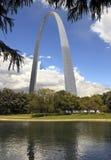 Voûte de Gateway - St Louis - Missouri - Etats-Unis Photos libres de droits