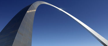 Voûte de Gateway - St Louis - Missouri - Etats-Unis Photos libres de droits