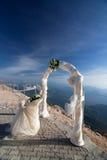 Voûte de mariage Photographie stock