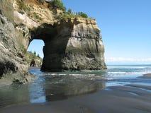 Voûte de mer en Nouvelle Zélande Photographie stock libre de droits