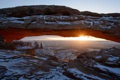 Voûte de MESA, Canyonlands Photos stock