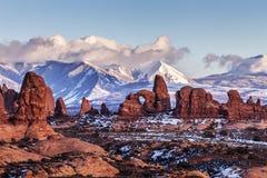 Voûte de tourelle, Utah image libre de droits