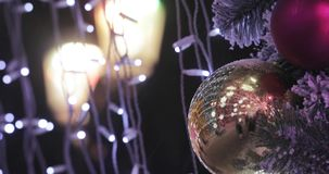 Voûte des illuminations de nouvelle année clips vidéos
