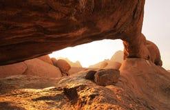 Voûte en Namibie Photographie stock libre de droits