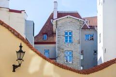 Voûte inverse à Tallinn image libre de droits