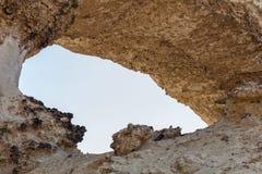 Voûte nommée dans l'oasis du désert de Namib l'afrique l'angola photo libre de droits