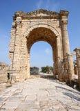 Voûte triomphale, pneu, Liban Images libres de droits