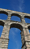 Voûtes d'aqueduc de Segovia Photo stock