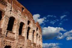Voûtes de Colisé à Rome Image libre de droits