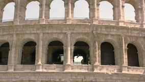 Voûtes de Colosseum banque de vidéos