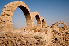 Voûtes en pierre antiques Photos libres de droits