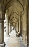 Voûtes gothiques Images libres de droits