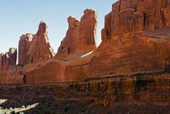 Voûtes Nat.Park, Utah Photographie stock libre de droits