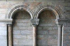 Voûtes romaines Photographie stock