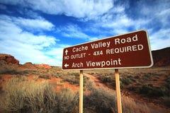 Voûtes stationnement national, Utah Image stock