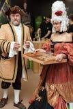 8vo Competencias internacionales que cocinan Southern Europe Imagen de archivo libre de regalías
