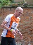28vo cuarto Venicemarathon: el lado aficionado Imagenes de archivo