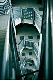 Vão das escadas interior   Foto de Stock
