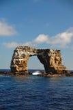 Voûte au milieu de l'océan Photographie stock