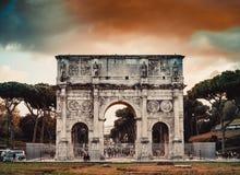 voûte Constantine Rome Image libre de droits