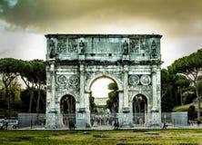 voûte Constantine Rome Photographie stock libre de droits