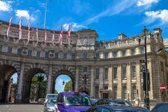 Voûte d'Amirauté à Londres LE R-U Photo stock