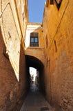 Voûte dans la vieille ville de Rhodes Image libre de droits