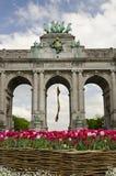 Voûte de Bruxelles Photographie stock libre de droits