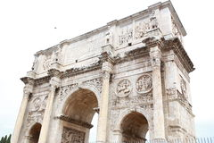 Voûte de Constantine Arco di Costantino Image stock